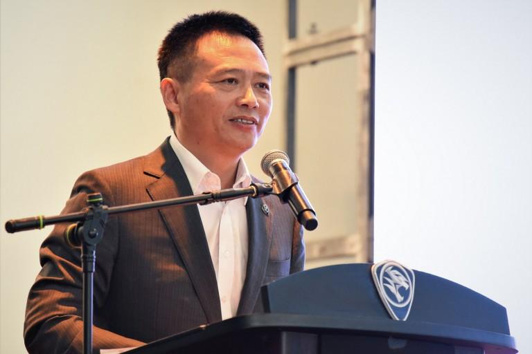 Proton CEO Dr. Li Chunrong