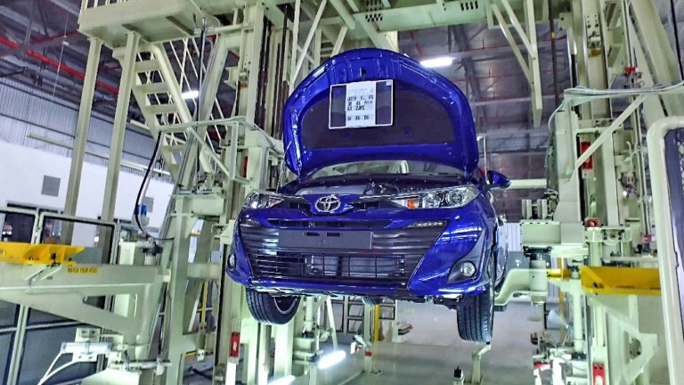 Toyota assembly plant at Bukit Raja, operated by Assembly Services Sdn Bhd
